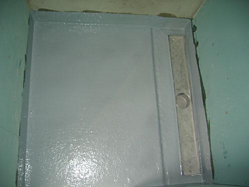 Polyesterbadkamervloeren - J. Kloosterman